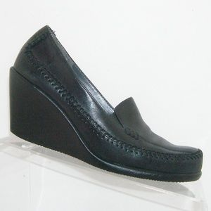 Aerosoles 'Social Gathering' black wedges 7M